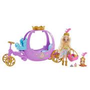 Mattel GYJ16 Enchantimals Royals Königliche Kutsche