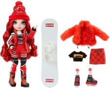 Rainbow High Winter Break Fashion Doll- Ruby Anderson (Red)
