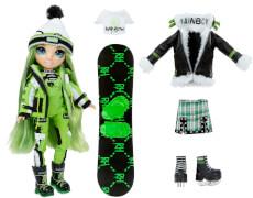 Rainbow High Winter Break Fashion Doll- Jade Hunter (Green)