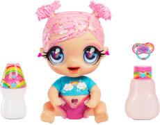 Glitter Babyz Doll- Pink (Rainbow)