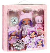 Na! Na! Na! Surprise Family - Lavender Kitty Family