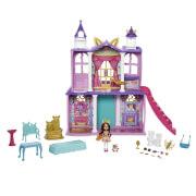 Mattel GYJ17 Enchantimals Royals Ballzauber Schloss mit Felicity Fox & Flick
