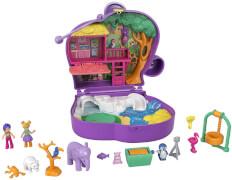 Mattel GTN22 Polly Pocket Elefantenabenteuer Schatulle
