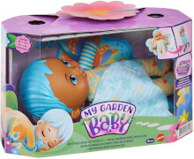 Mattel HBH38 My Garden Baby Mein Schmuse Schmetterlings-Baby (blaues Haar)