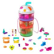 Mattel HFP99 Polly Pocket Ausklappspaß-Schatulle Fruchtsmoothie