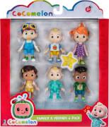 CoComelon-Familie & Freunde 6er Fig.-Set