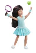 Luna spielt Tennis