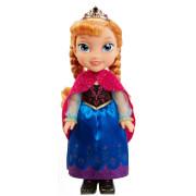 Disney Frozen - Die Eiskönigin Puppe Anna mit Wintercape, 35 cm