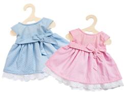 Puppen-Sommerkleid, klein, Gr. 28-33 cm