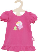 Puppen-Nachthemd pink, 28 - 35 cm