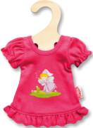 Puppen-Nachthemd pink 20 - 25 cm