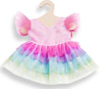 Puppen-Kleid Regenbogenfee, Größe 35 - 45 cm