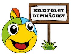 Götz 3402676 Kombi Bekleidungsset, Glitzerblume, 4-teilig, Für Puppen 45-50 cm