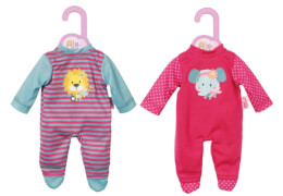 Zapf BABY born® Kleider Kollektion Dolly Moda Strampler, Größe 30-36cm, ab 3 Jahren