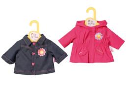 Zapf BABY born® Kleider Kollektion Dolly Moda Jacke, Größe 38-46cm, ab 3 Jahren