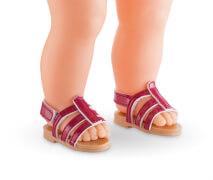 MC36 Sandalen kirschfarben