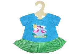 Heless 2810 - Fair Trade Kleid Flamingo, Größe 35-45 cm