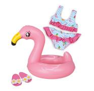 Heless 99 - Flamingo-Schwimmset Ella, Größe 35-45 cm