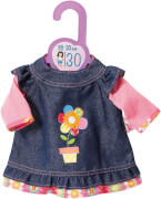 Zapf Dolly Moda Jeanskleid, Gr. 30cm