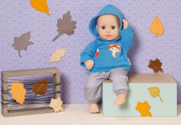Zapf Dolly Moda Sport-Outfit Blau, Gr. 30cm