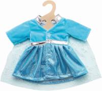 Mantel Eisprinzessin mit Umhang, Gr. 35-45 cm