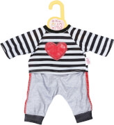 Dolly Moda Sport-Outfit gestreift 43cm