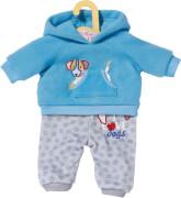Dolly Moda Sport-Outfit Blau 43cm