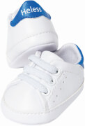 Weiße Puppen-Sneakers, Gr. 30-34 cm