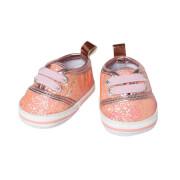 Puppen-Glitzer-Sneakers, rosa, Gr. 38-45 cm