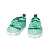 Puppen-Glitzer-Sneakers, mint, Gr. 30-34 cm