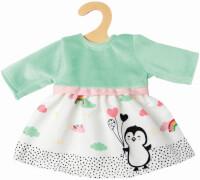 Puppen-Kleid Pinguin Pünktchen, Gr. 35-45 cm