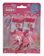 Simba New Born Baby Schuhe und Socken, 4-sortiert.