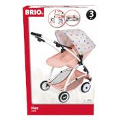 BRIO 63906000 Puppenwagen Flex mit Multifunktions-Top