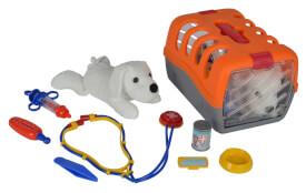 Doctor-Set Tierarztkoffer (7-teilig), Kunststoff, ca. 24 cm, ab 3 Jahre