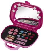 Theo Klein 5576 - Princess Coralie Kosmetikkoffer mit Licht, Spielzeug, ca. 30x10x30 cm, ab 3 Jahren