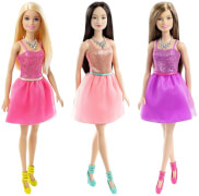 Mattel Barbie im Glitzerkleid