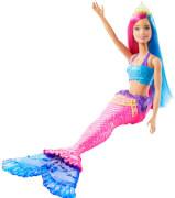 Mattel GJK08 Barbie Dreamtopia Meerjungfrau Puppe (pinkes und blaues Haar)