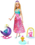 Mattel GJK51 Barbie Dreamtopia Drachen-Kindergarten Spielset