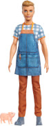 Mattel GJB62 Barbie #Spaß auf dem Bauernhof'' Ken Puppe