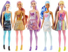 Mattel GWC55 Barbie Color Reveal Barbie Shimmer Series, sortiert