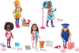 Mattel GTN86 Barbie Chelsea Karriere Pupen, sortiert