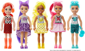 Mattel GWC60 Barbie Color Reveal Chelsea Mono Mix, sortiert