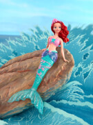 Mattel Disney Wasserzauber Arielle