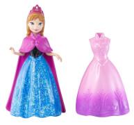 Mattel Die Eiskönigin MagiClip Mini-Prinzessin Anna & Mode