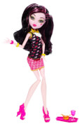Mattel Monster High Monsterschüler-Carsfé Draculaura