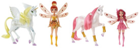 Mattel Mia and me Mini-Puppe & Einhorn