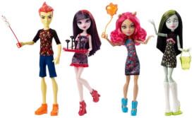 Mattel Monster High Monsterfest Puppen Sortiment