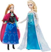 Mattel Die Eiskönigin Klassik Kollekt.Anna&El