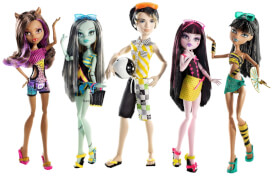 Mattel Monster High Gloom Beach Puppen, sortiert