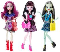 Mattel Monster High Todschicke Monsterschülerinnen sortiert